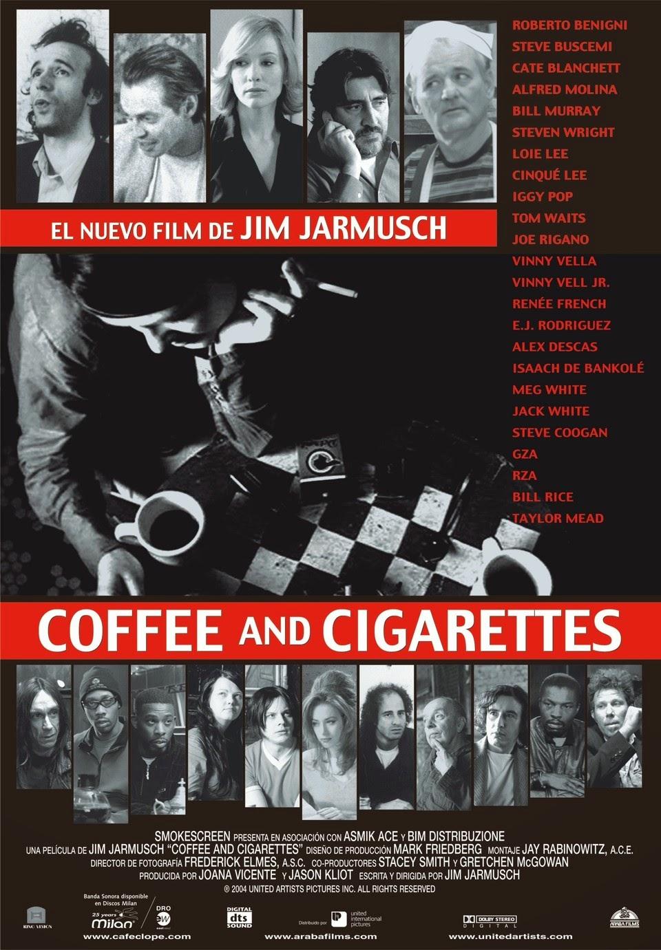 El tabaco en el cine - 101 dálmatas - El Señor de los Anillos - Casablanca - Kill Bill - Coffee and Cigarettes - Fumar en películas - el troblogdita - el fancine