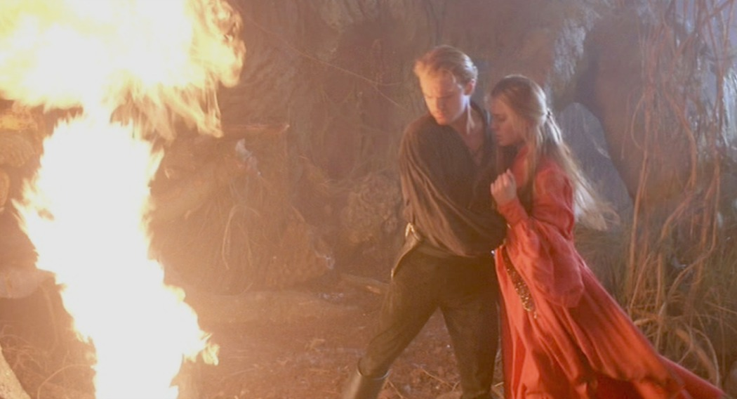 The Princess Bride Fire Swamp