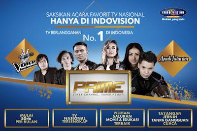 Indovision Paket Prime