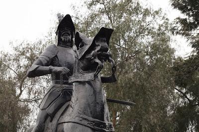 Francisco Pizarro Parque de la Muralla