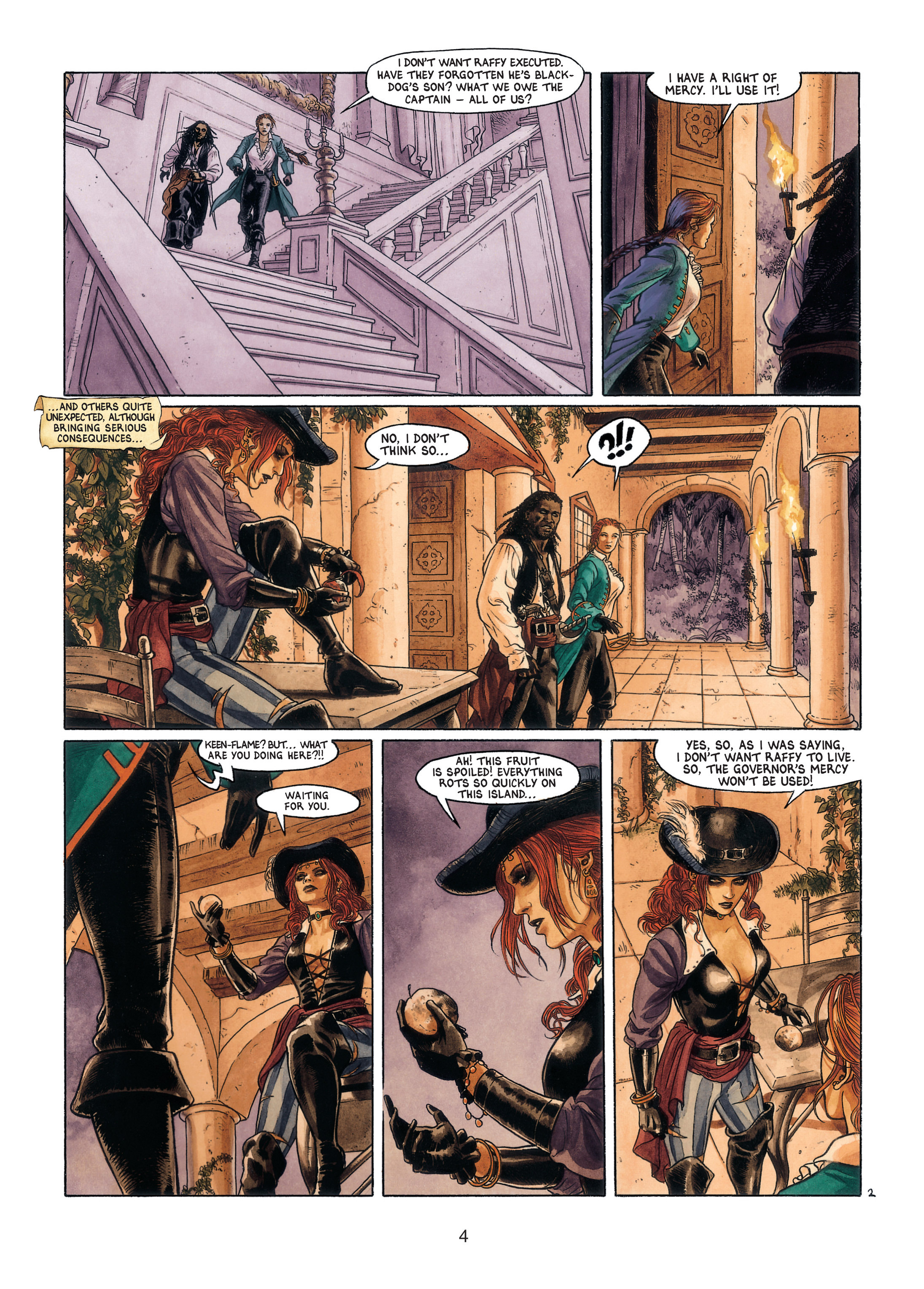 Read online Barracuda comic -  Issue #4 - 5