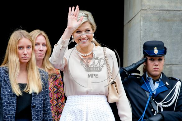 Dutch Queen Maxima wore Natan Dress