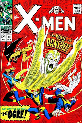 X-Men #28, the Banshee