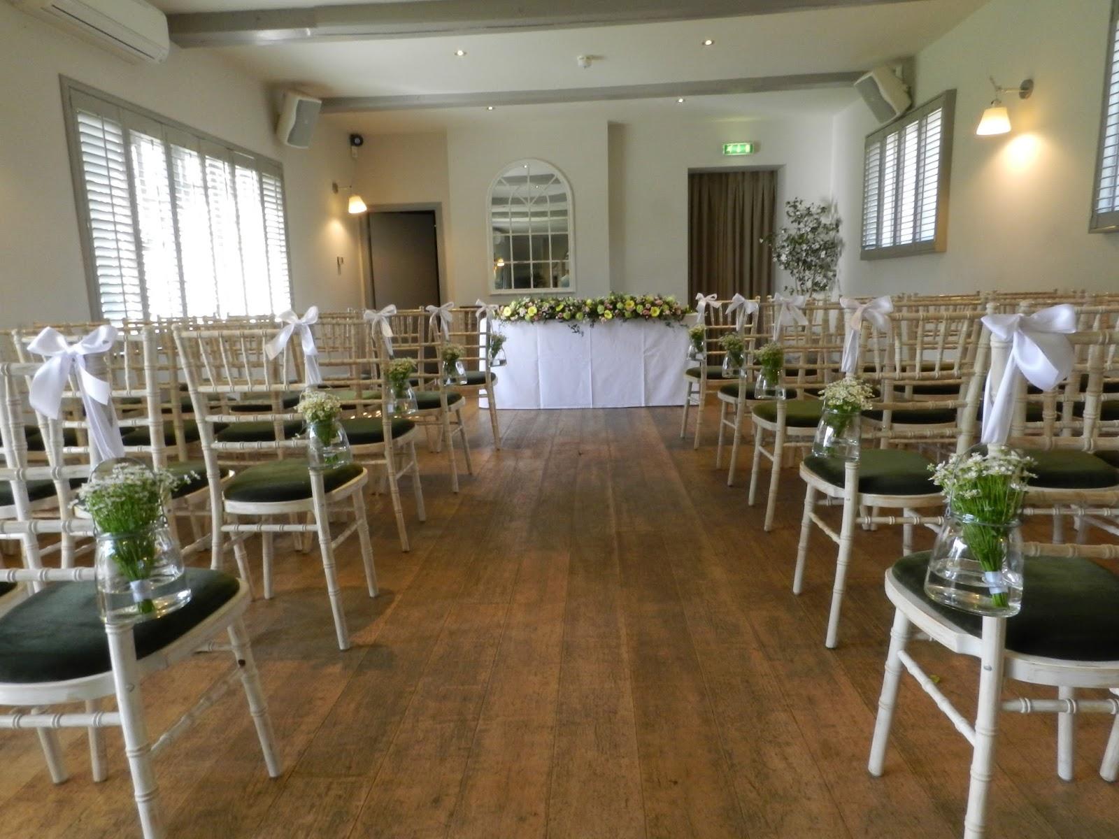 Sandra's Flower Studio: Doddington Hall Civil Ceremony And