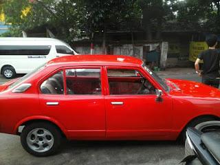 Lapak Mobil Jadul : Toyota Corolla 73 mesin 5k surat-surat lengkap pajak off 2010