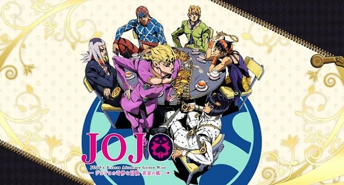JoJo's Bizarre Adventure - Ougon no Kaze(Golden Wind) Episodio 01 Legendado Download 1080p!