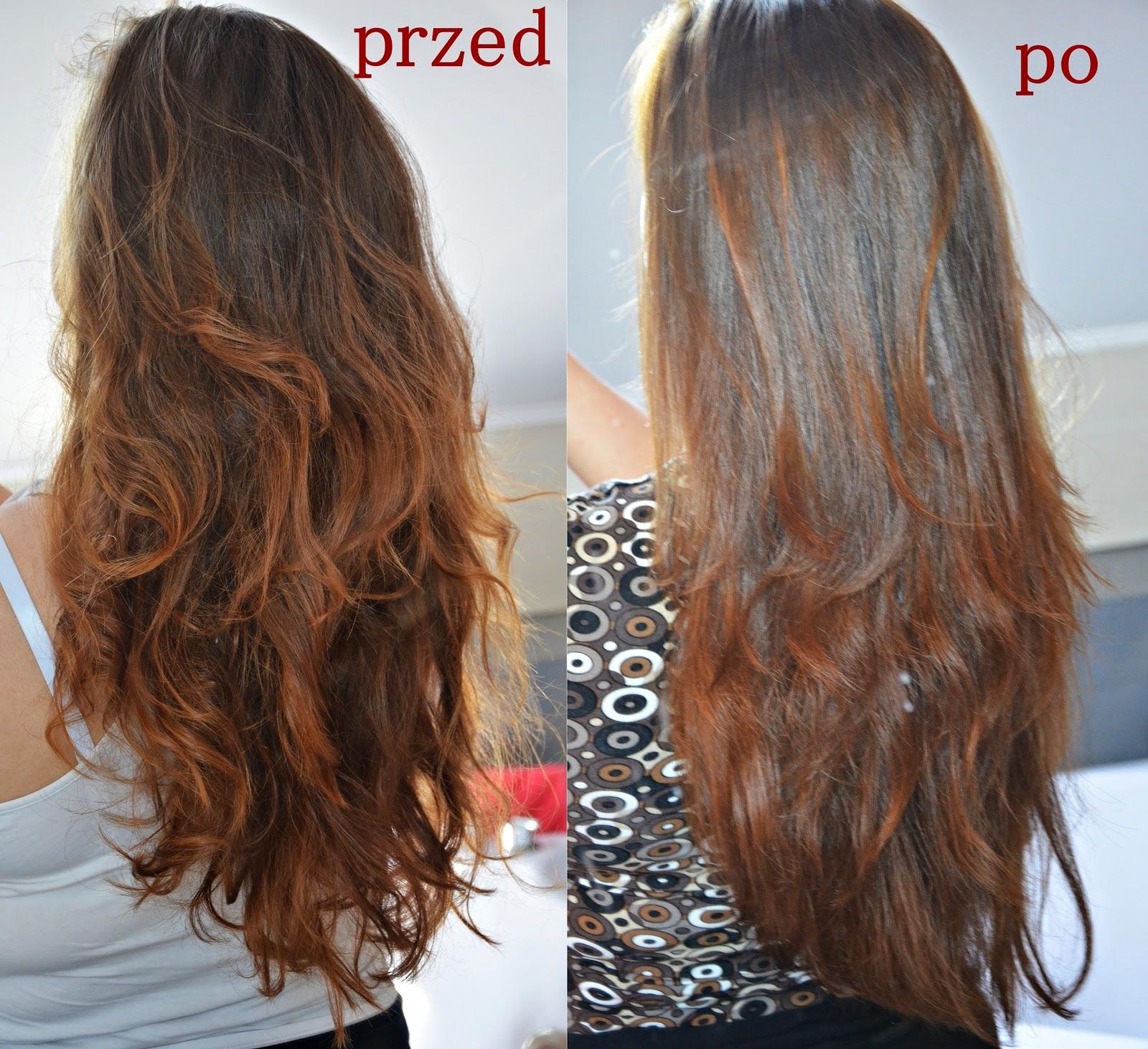 efekt henny na włosach