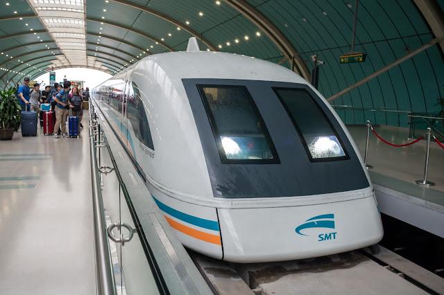 čína, china, šanghaj, shanghai, maglev, transportation