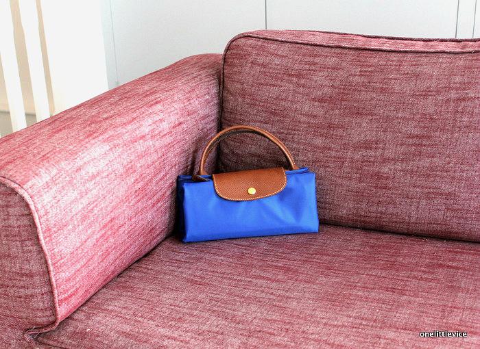 onelittlevice lifestyle blog: folding minimalist luggage
