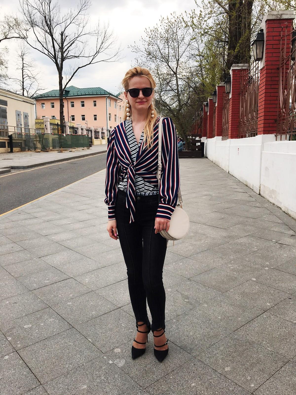 модный блоггер москва, луки модные, наряды лето, fashion blog, fashion trends stripes