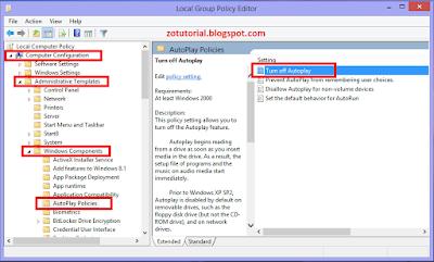Cara Mematikan dan Menghipupkan AutoPlay Windows