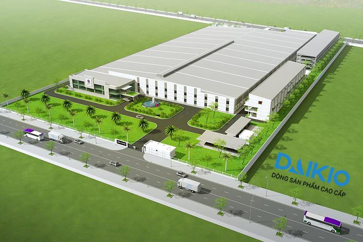 Dự án làm mát làm mát nhà xưởng May Ghim Li-  Đồng Nai