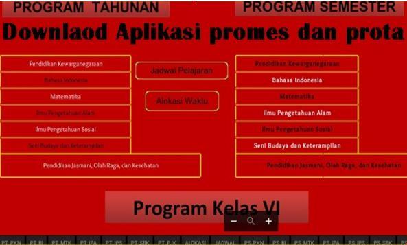 DownloadAplikasi Pembuat Prota Promes Otomatis Terbaru 2017