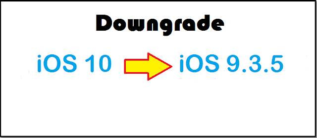 With the release of its new version of iOS 10, if you feel iOS 9.3.5 is better than iOS 10 or if you have also faced a number of issues on iOS 10 like bugs, draining battery and want to downgrade your iPhone to iOS 9.3.5 from iOS 10 , here is how you can get back to iOS 9.3.5 quickly