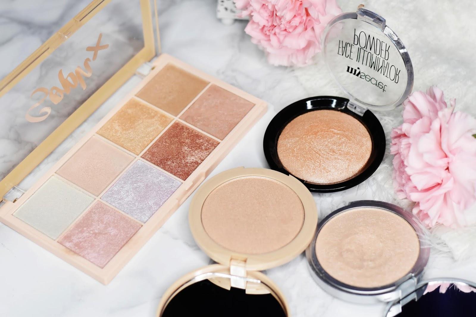makeup revolution soph x paleta rozświetlaczy porownanie thebalm
