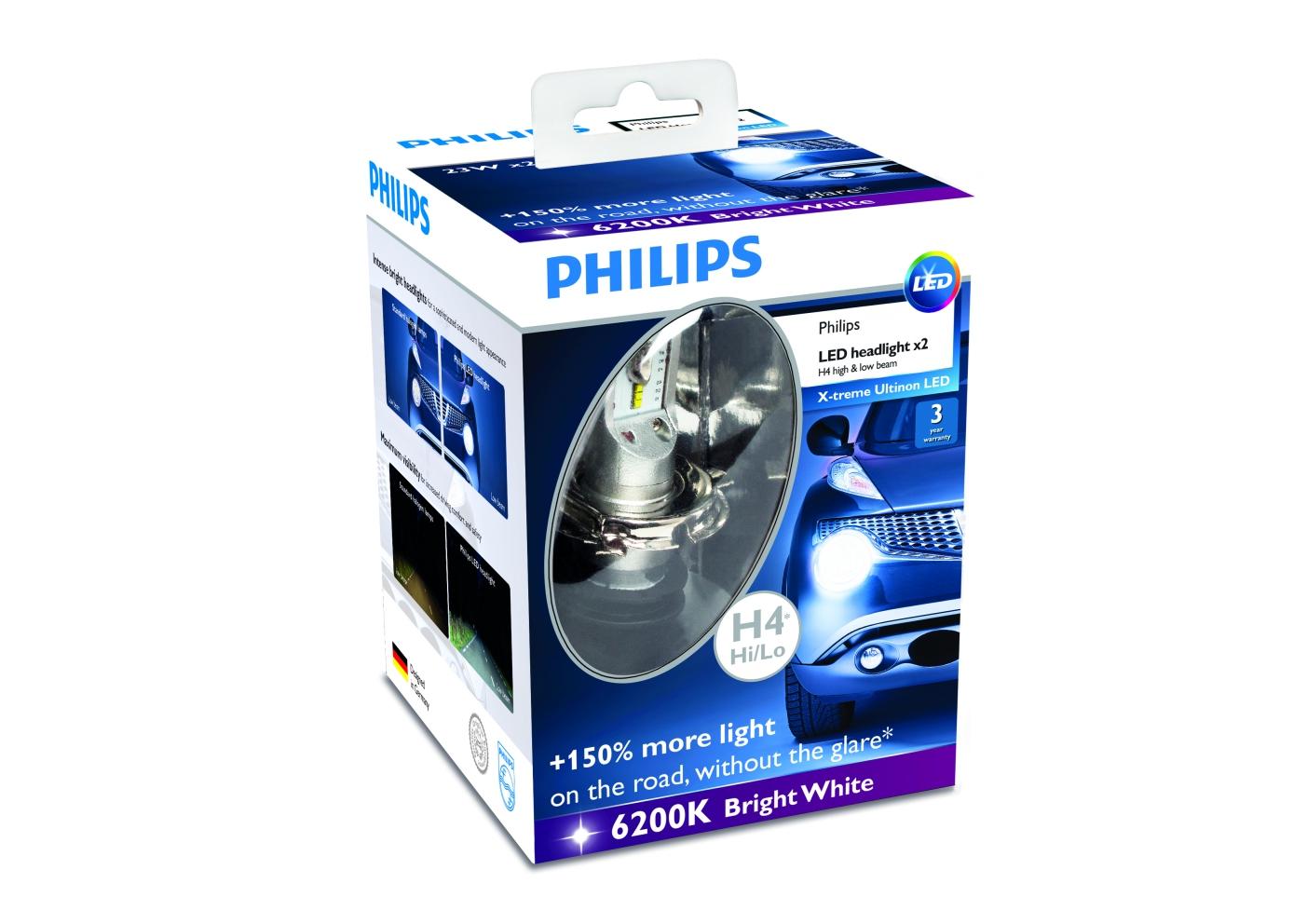 Automec: pioneira lâmpada automotiva de led philips é lançada na
