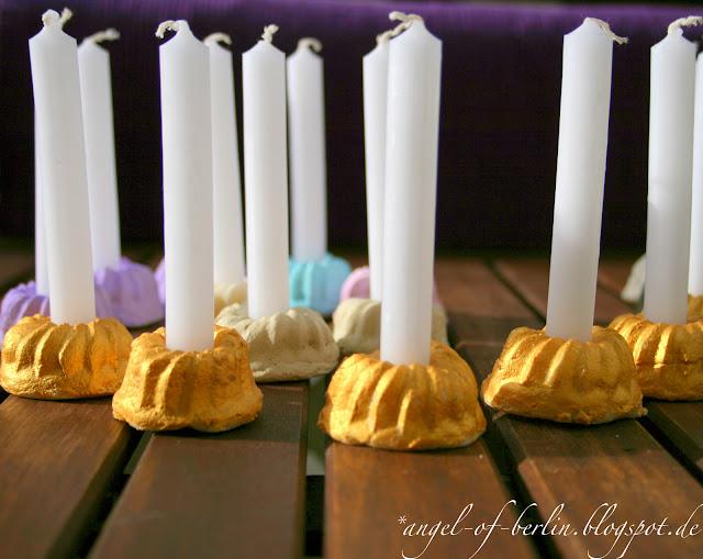 Guglhupf-Kerzenhalter