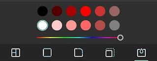 Choose background color