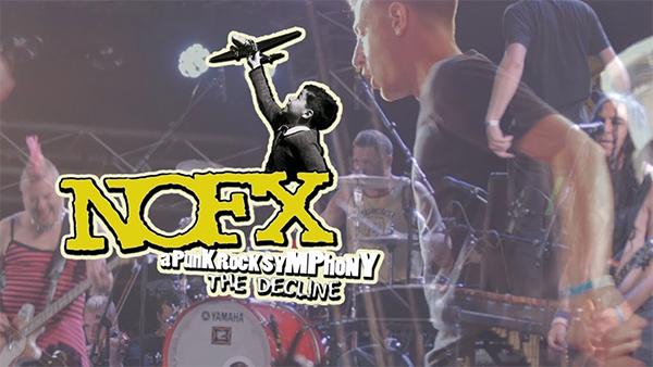 The Decline - A Punk Rock Symphony live at Jera On Air