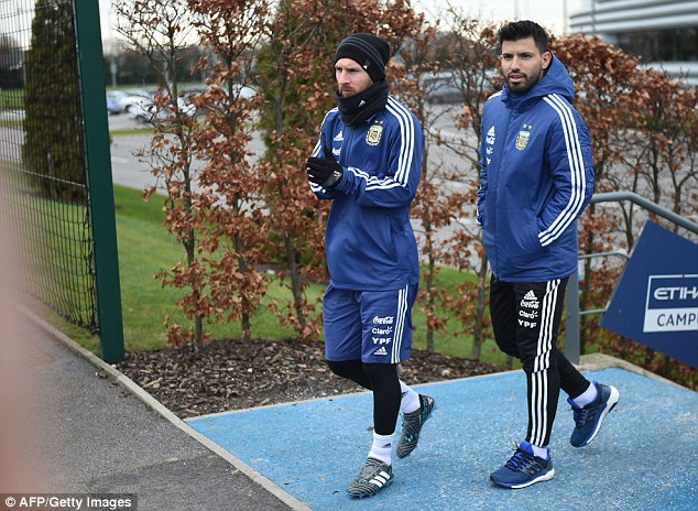 Lionel Messi rules out Manchester City move and insists Sergio Aguero must join him at Barcelona