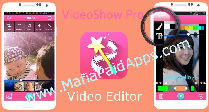 VideoShow Pro – Video Editor 7 6 9 rc FREE Unlocked Apk for android