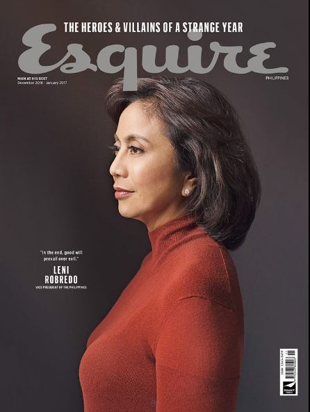 LOOK: Esquire's quick-witted comebacks to critics of Leni Robredo magazine issue