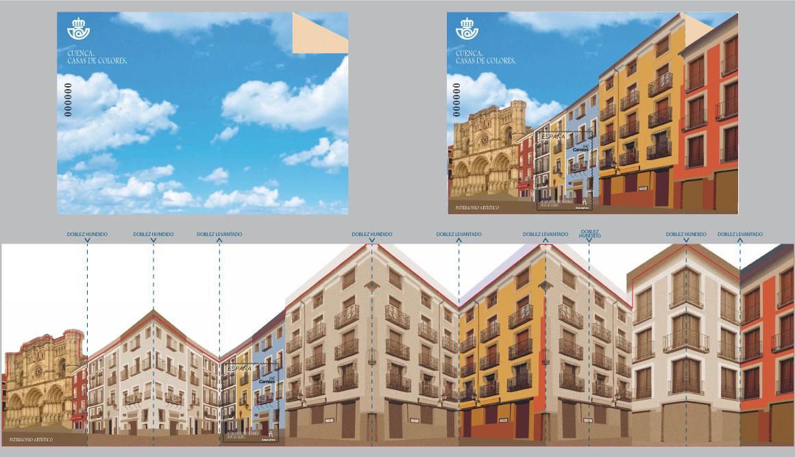 Cuenca. Casas de Colores