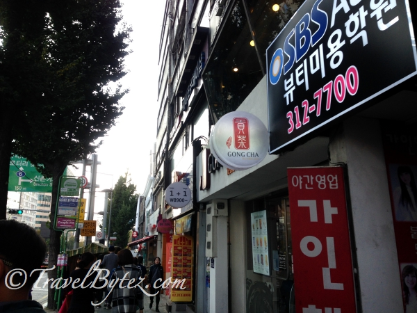 A Little Shopping at Ewha Women's University Area