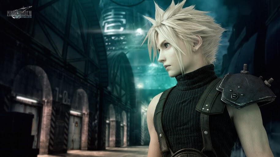 Cloud Strife Final Fantasy 7 Remake 4k Wallpaper 7 70