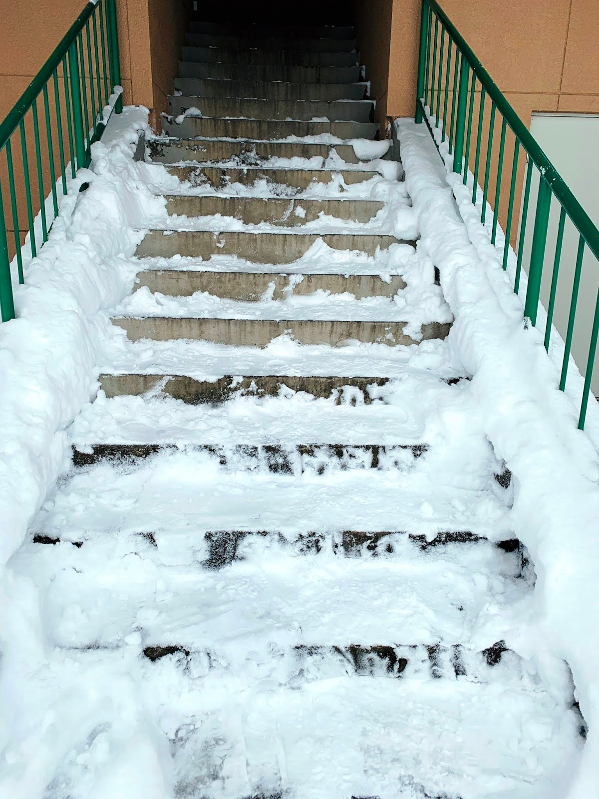 北西之丘展望公園-觀景台樓梯