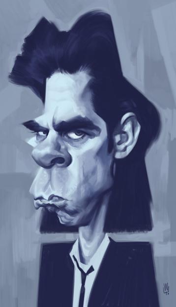 """Nick Cave"" por Wouter Tulp"