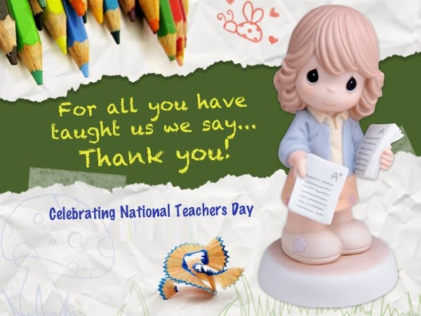 cute greeting cards to wish happy teacher's day  cute