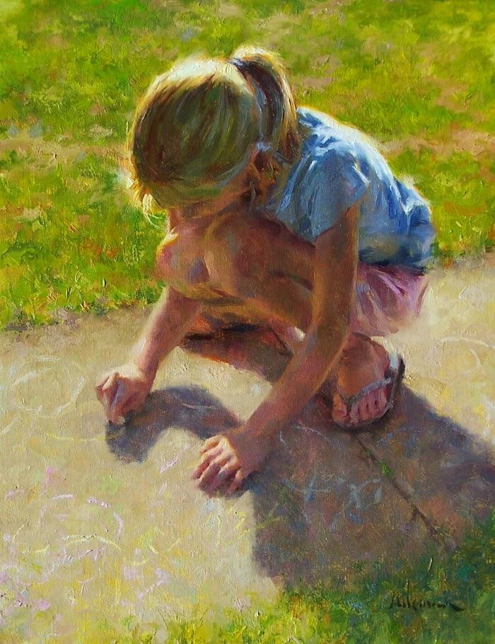 Современный американский художник. Steven Hileman