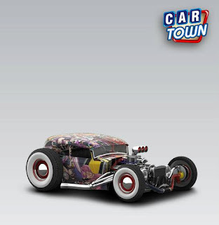 Ford Rusty Rat Rod 1932 Grand Chase by Pedro