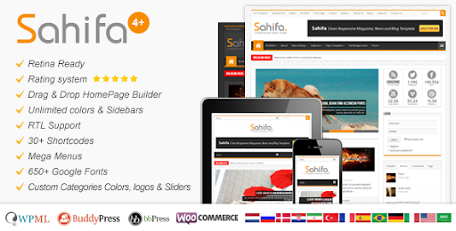 Sahifa Theme - Responsive WordPress News