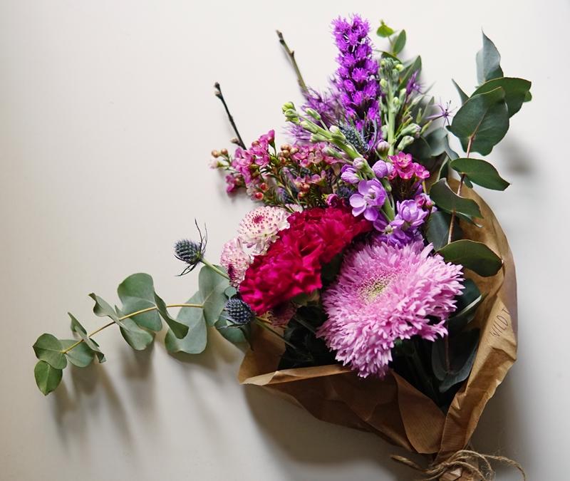 kukkakimppu, kukkakauppa, luonnollinen kimppu