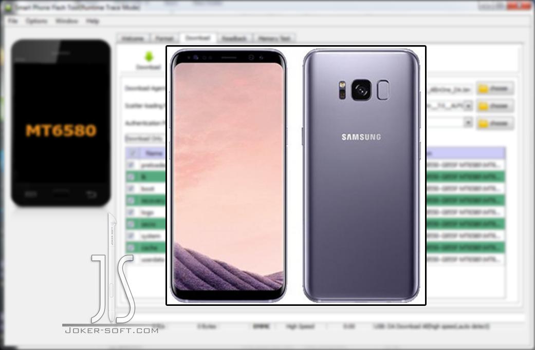 الفلاشة المسحوبه لهاتف S8 G9550-G955F MT6580 hero2qltechn إصدار