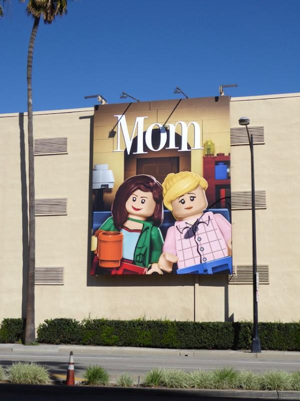Mom Lego billboard WB Studios