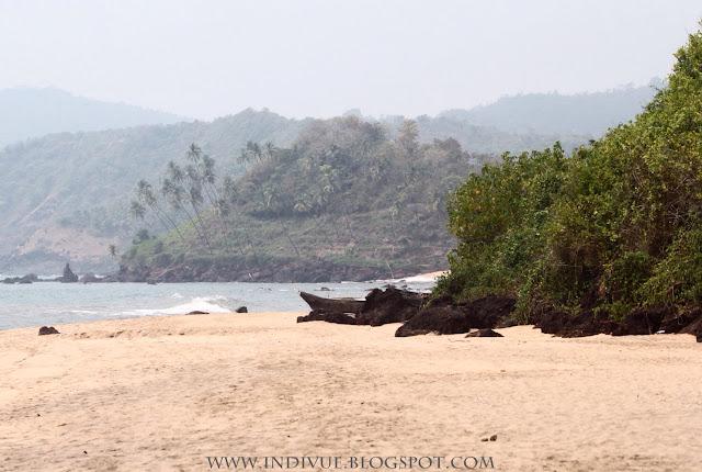 Cola Beach, Goa, Intia