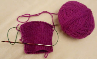 Ribbed Sock Cuff