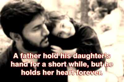 Happy Fathers Day 2017 daughter love quotes