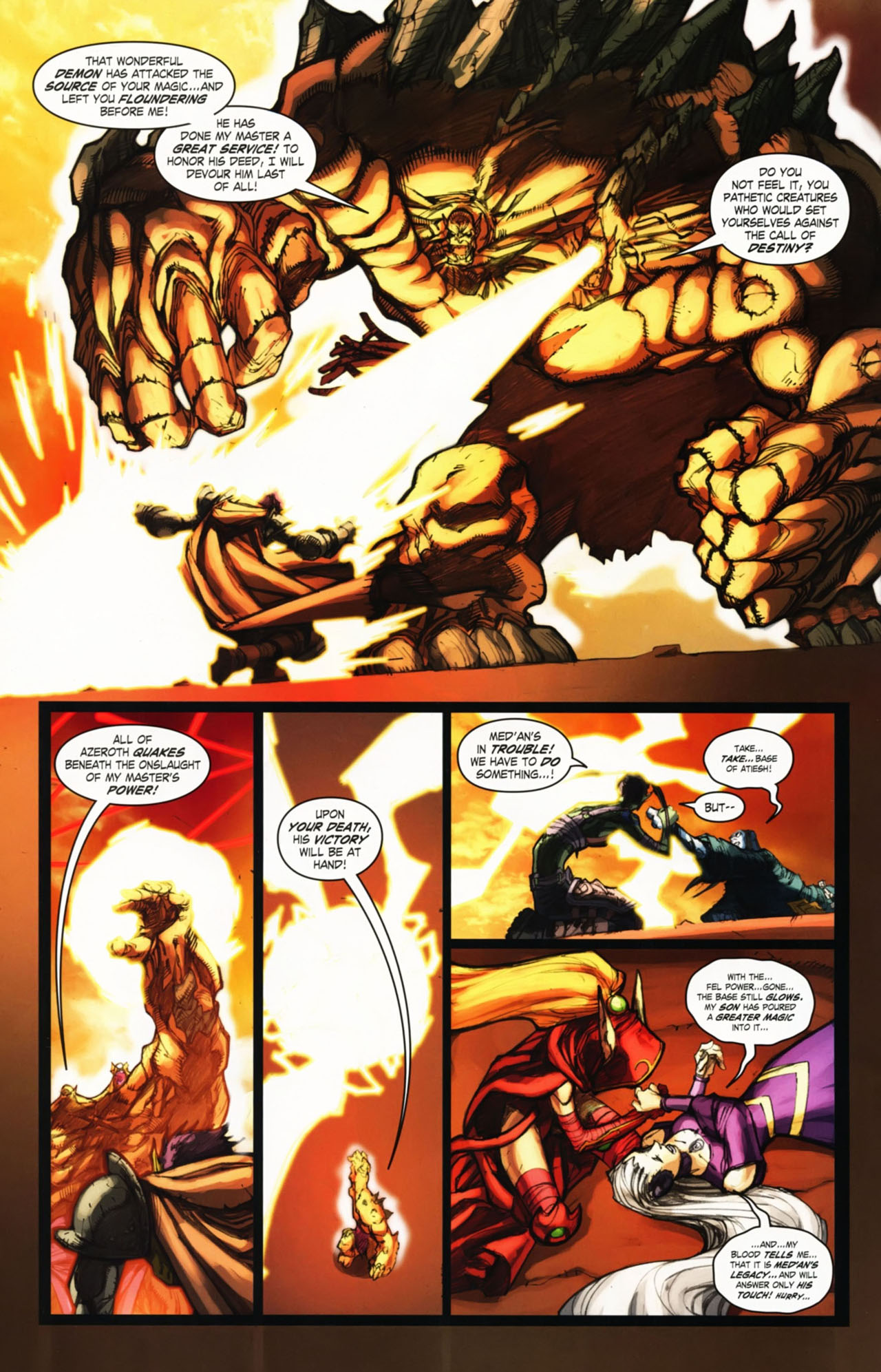 Read online World of Warcraft comic -  Issue #25 - 29
