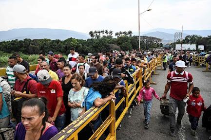 La UE donó 10 millones de euros para hacer frente a la migración de venezolanos