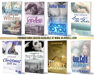 Affordable premade book cover designs