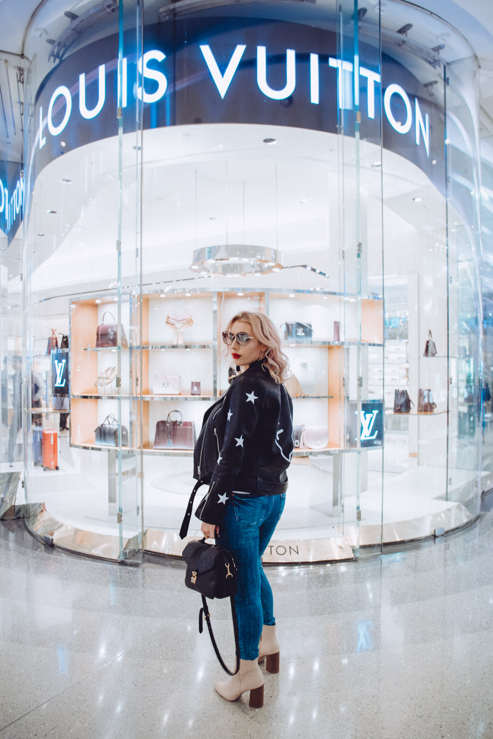 louis vuitton at Westfield Shepherds bush, fashion blogger, Topshop jacket