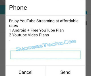 Airtel free YouTube streaming when you buy Data plan bundles