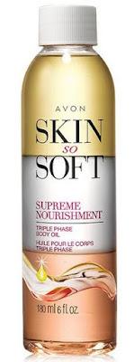 Discover the power of precious oils with Avon Skin So Soft Supreme Nourishment Triple Phase Body Oil!