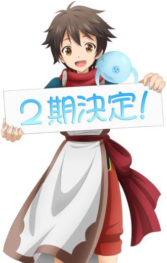 Sinh Sống Với Cục Slime - Kami-tachi ni Hirowareta Otoko Ss2 (2021)
