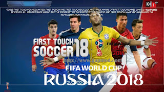 FTS 18 Mod FIFA World Cup 2018 by NGO QUY TAI