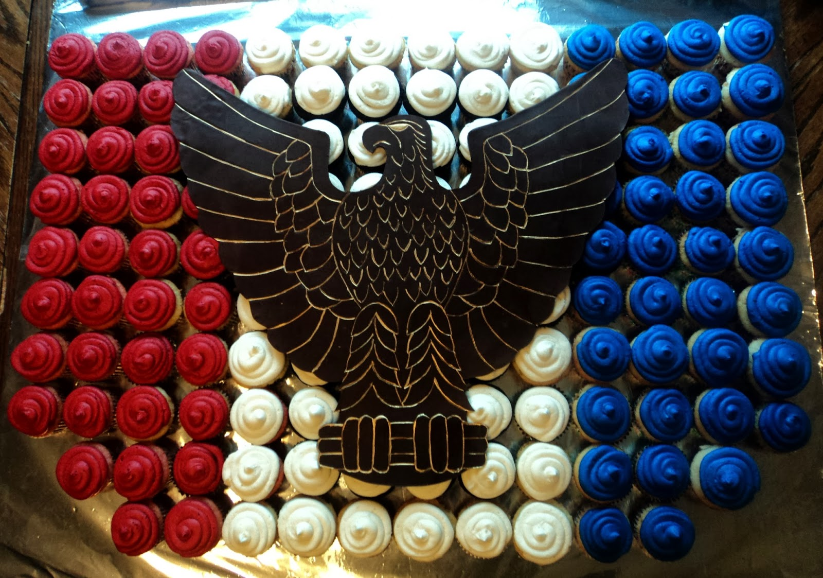 Eagle Scout Cup Cake Toppers